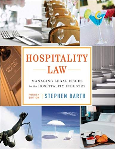 Applied Law in the Hospitality & Catering Industry (Evening)